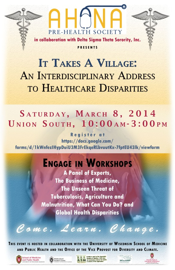 Healthcare Disparities Conference - Saturday March 8
