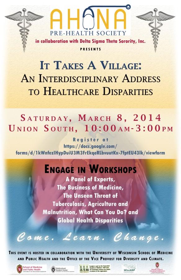 Healthcare Disparities Conference - Saturday March 8